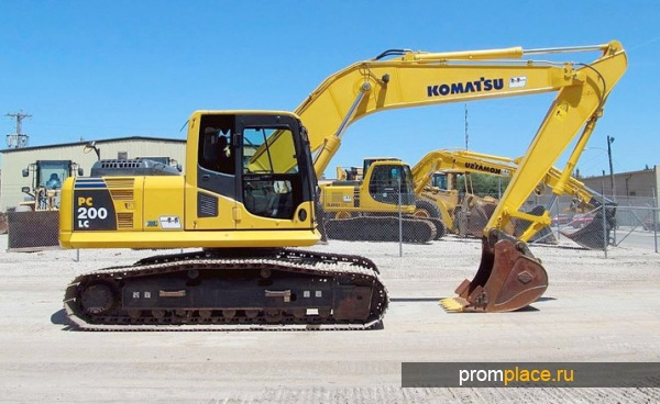 Excavator komatsu pc300 8 appointment  Excellent characteristics and